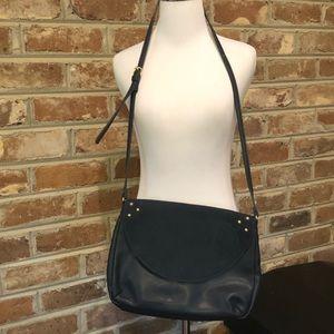 Sole Society Navy Blue Crossbody Bag